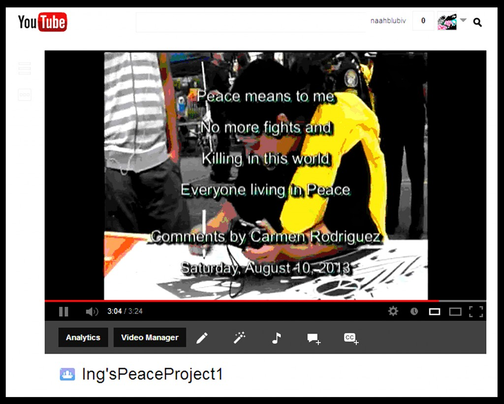 descriptions of ing u0027s videos on youtube ingpeaceproject com