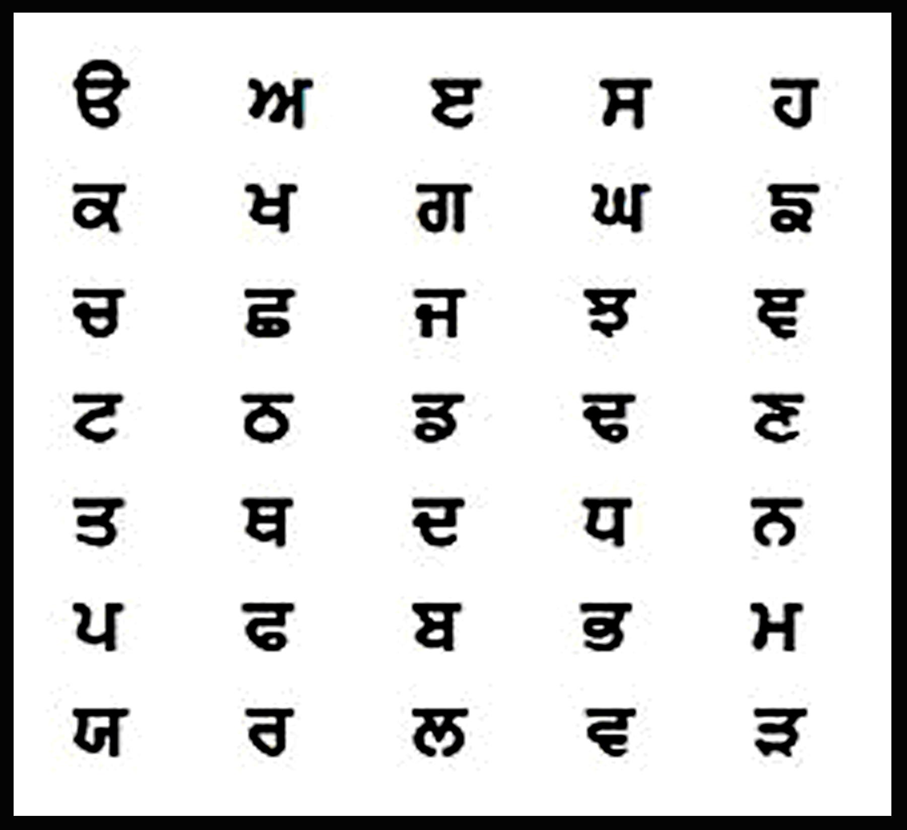 Ing's Peace Poem Translated into Punjabi | IngPeaceProject com