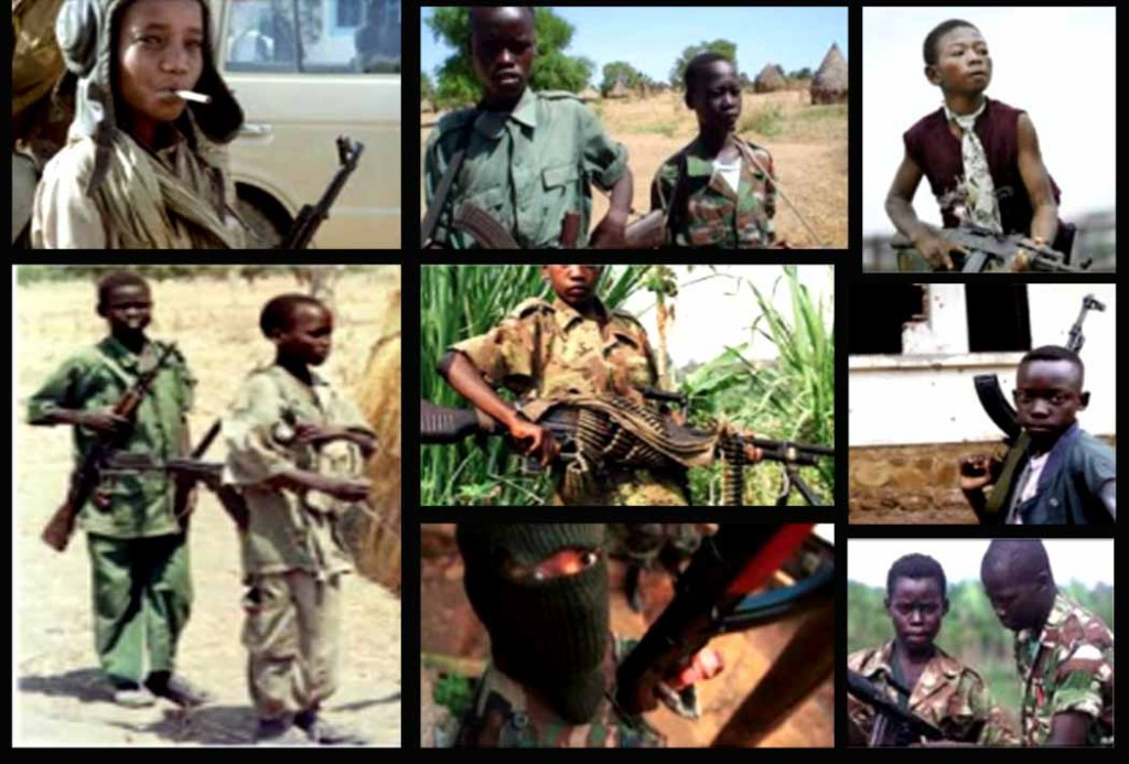 the issue about child soldiers Child soldiers global report 2008 (coalition to stop the use of child soldiers) most child soldiers are between the ages of 13 and 18, though many groups include children aged 12 and under beah, for example, fought alongside a 7-year-old and an 11-year-old.
