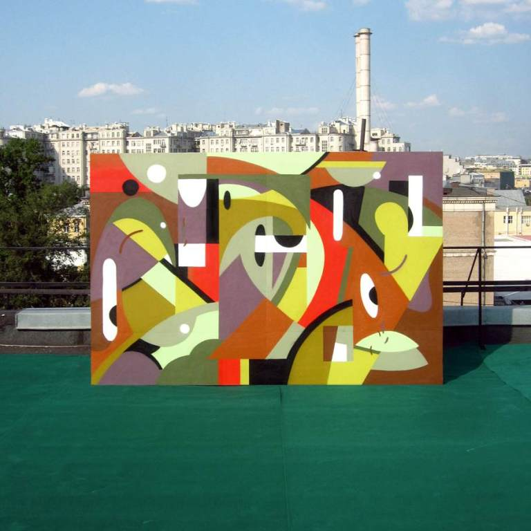 graffiti masterpiece in russia by alexey luka . moscow urban art scene