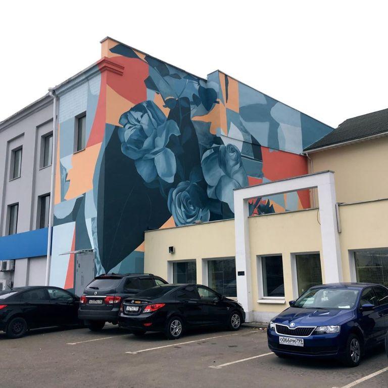 russian mural artwork by ivan ninety