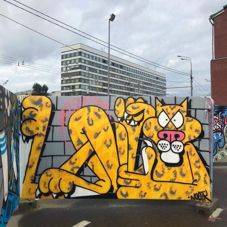 moscow murals street art