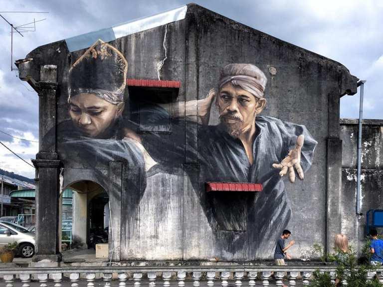 street art masterpiece by julia volchkova