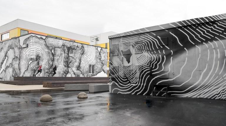 andrey berger mural in russia