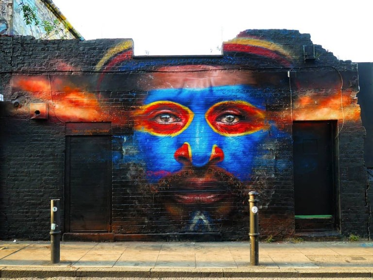 Dale Grimshaw in London, UK