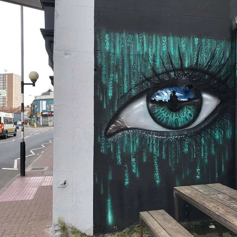 street art masterpiece in uk